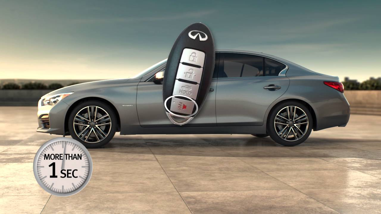 2016 Infiniti Q50 HEV - Intelligent Key and Locking Functions