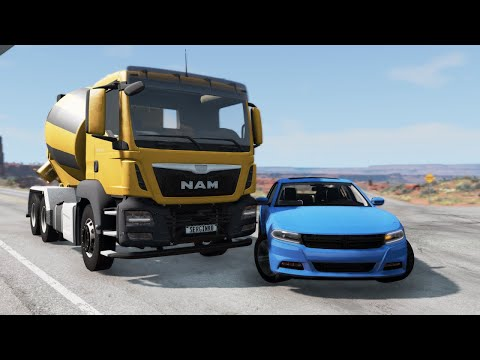 Bus & Truck Crashes 17 - BeamNG. Drive |