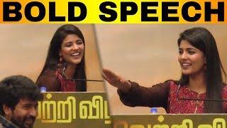 Aishwarya Rajesh Mass Speech | Kanaa Success Meet | Sivakarthikeyan