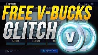 FORTNITE GLITCH 2018 V BUCKS E ITENS GRATIS 1,500 V BUCKS FREE PS4 PC E XBOX!!!!
