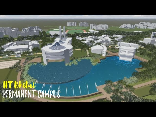 Glimpse of Permanent Campus | Architectural View | IIT