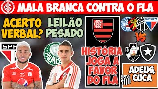 VERGARA FECHADO NO SP? BORRÉ: RIVER X VERDÃO; COLORADO QUER MALA BRANCA; CHANCES DO FLA; RJ x NE
