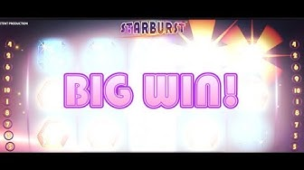 30 🔴 LIVE BIG WIN! Starburst Slot Game Real Money playthrough  #casino #slot #onlineslot #казино
