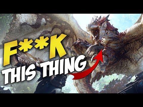 God Damned Flying Dragons   MONSTER HUNTER: WORLD (& Blue Mic Giveaway!)