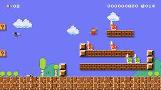 SMB2 (J) A-1 Speedrun Edition: Beating Super Mario Maker's Super Expert Levels!