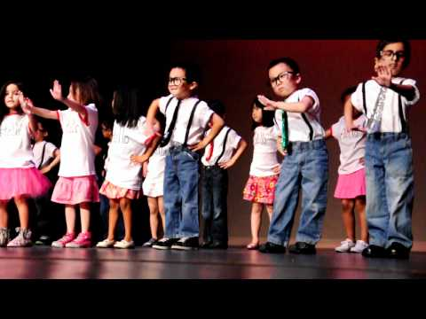 5 year old Nicole's preschool graduation performance at Discovery World Montessori