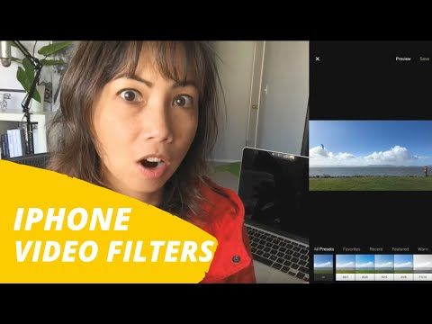 iPhone Video Filters