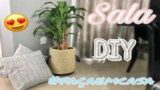 DIY Sala #façaemcasa
