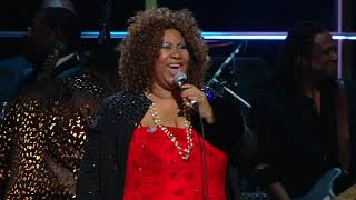 """Aretha Franklin, Lenny Kravitz perform """"Think"""" at the 25th Anniversary Concert"""