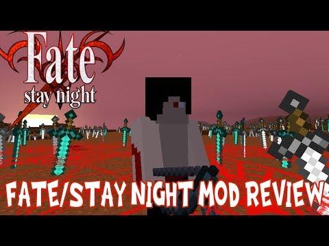 REALITY MARBLES, MAGIC CIRCLES & MORE!    Minecraft Fate/Stay Night Mod Review (Mahou Tsukai Mod)