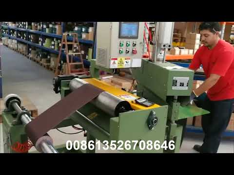 Abrasive Belt Cut To Length Machine