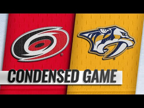 09/25/18 Condensed Game: Hurricanes @ Predators