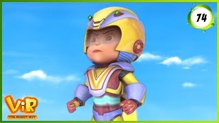 Vir: The Robot Boy | Invisible Power Attack | Action cartoons for Kids | 3D cartoons