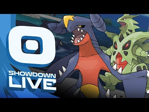 """GARCHOMP THE MEGA TYRANITAR"" Pokemon Sun & Moon! Mix and Mega Showdown Live w/PokeaimMD"