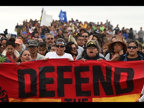 The Dakota Access Pipeline - I Stand By Standing Rock
