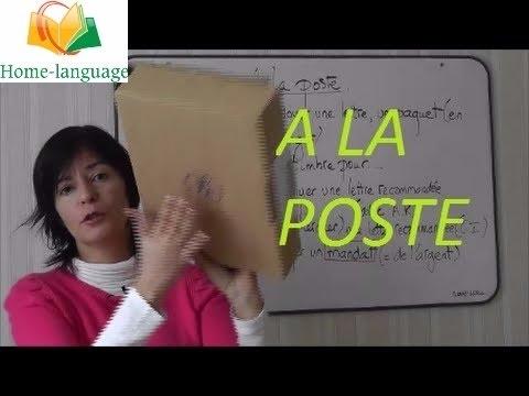 A La Poste