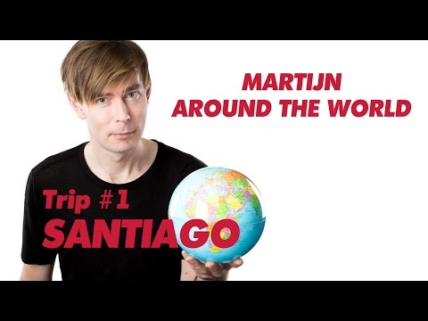 Heavy nightlife in Santiago // Trip #1 // Travel video Martijn around the world