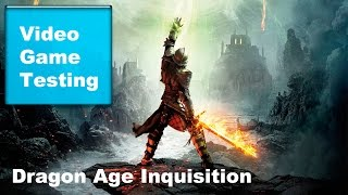 Test Dragon Age Inquisition on PC GTX 650 ti 1gb
