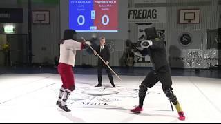 Coolest Fencing Match - Continuous HEMA Longsword Fencing (Swordfish)