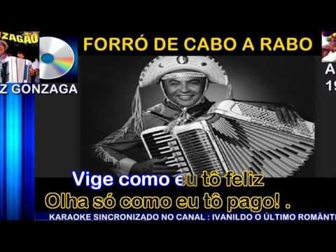 Forró de Cabo A Rabo - Luiz Gonzaga - karaoke