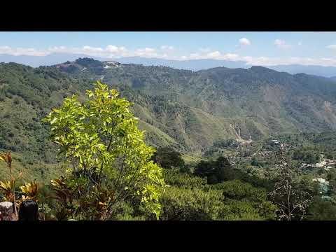 Mines view park observation deck, Baguio city, Philippines