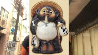 What is Tanuki, Imperial palace, Metro system - Daily Journal Tokyo, Japan cycling tour