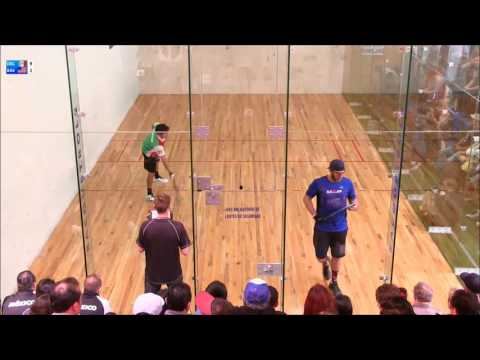 2016 Pan Am Racquetball Championships Men's Singles Final Bredenbeck (USA) vs De La Rosa (Mex)