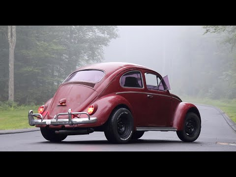 1ST Drive in the 64 Volkswagen Beetle : Does the twin carb Vw Bug scoot ?