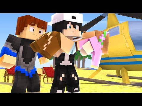 IS LITTLE KELLY, RAVEN AND SCUBA STEVE GOING TO DIE ON THE ISLAND? | Minecraft Custom Roleplay - Видео из Майнкрафт (Minecraft)