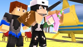 IS LITTLE KELLY, RAVEN AND SCUBA STEVE GOING TO DIE ON THE ISLAND? | Minecraft Custom Roleplay
