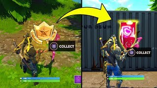 SECRET BANNER WEEK 8 SEASON 6 LOCATION! - Fortnite Battle Royale– WEEK 8 SECRET BATTLE STAR REPLACED