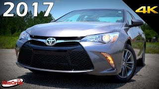 2017 Toyota Camry SE - Ultimate In-Depth Look in 4K