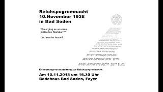 Novemberpogrom 2018 HD