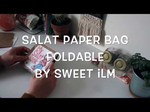 Sweet ilm Salat Paper Bag Foldable Kit (Islamic School Activities)