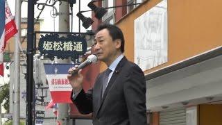 2015.04.03 大阪維新の会 住之江区選挙区3候補合同出陣式 東とおる参議...