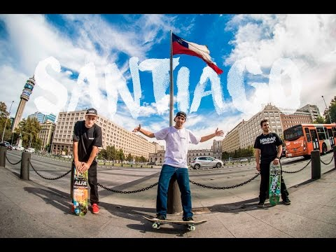 Hondarskateboards Trip Santiago do Chile
