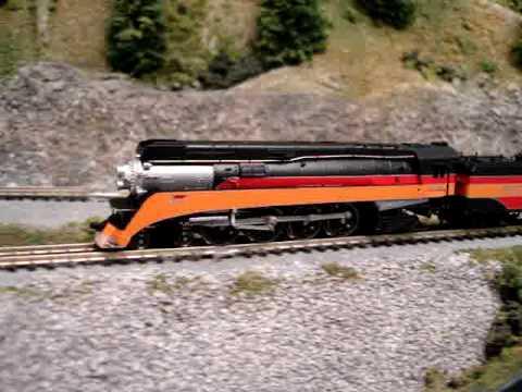 AZL Brass Z scale train GS4 Steam Locomotive Southern Pacific