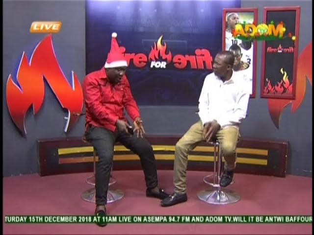 Commentary Position - Fire 4 Fire on Adom TV (12-12-18)