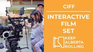 Interactive Film Set - Calgary International Film Festival
