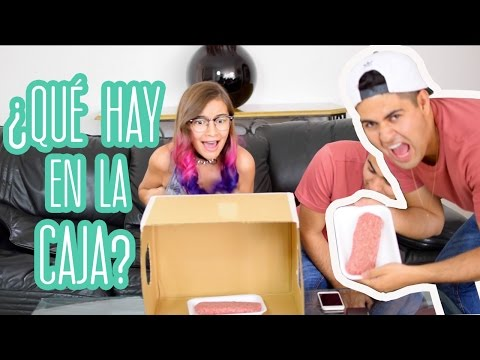 ¿QUÉ HAY EN LA CAJA? - WHAT'S IN THE BOX CHALLENGE Ft. Lulu99 | Alejo Suárez