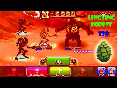 Monster Legends - Living Forest level 1-130 review combat : Best Skill