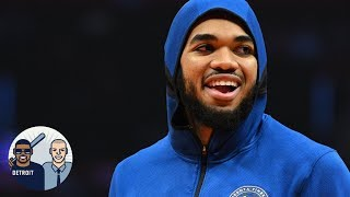 Karl-Anthony Towns, Wolves will be better without Jimmy Butler | Jalen & Jacoby