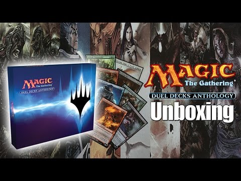 MTG - Duel Decks Anthology Unboxing!