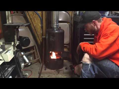 DIY Waste Oil Burner