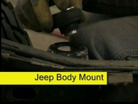 jeep body mount repair