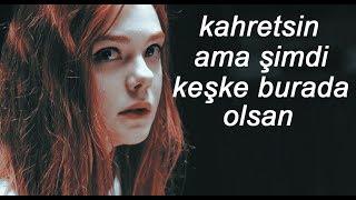 Avril Lavigne - Wish You Were Here (Türkçe Çeviri) | Deniz'e
