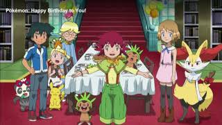 Pokemon Happy birthday song