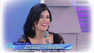 Fernanda Brum no Domingo Legal 02/10/2016 (COMPLETO)