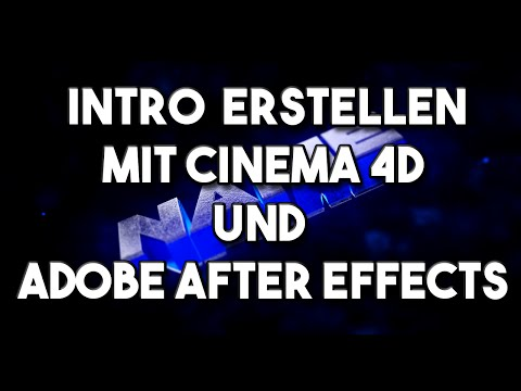 Epic Sync Intro mit Cinema 4D und Adobe After Effects erstellen [TUTORIAL]