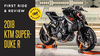 2018 KTM 1290 Super Duke R // First Impressions (HOLY SH*T IT'S FAST)